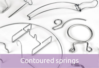 Contoured springs / Wire forms